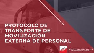 INDUSTRIAS JAPAN S.A.   Protocolo de transporte de movilización externa de personal